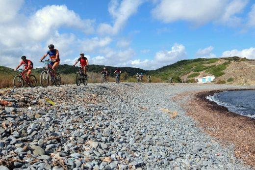 Un momento de la prueba del año pasado (Fotos: Volta a Menorca)