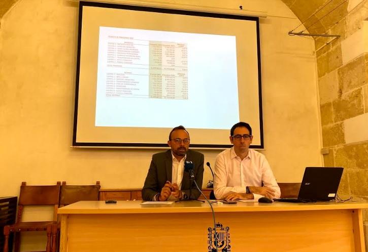 Acto de presentación de los presupuestos 2020 de Alaior