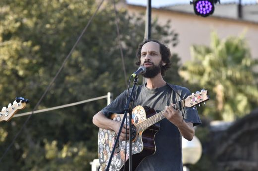 Leonmanso, durante la actuación (Foto: Fira B!)