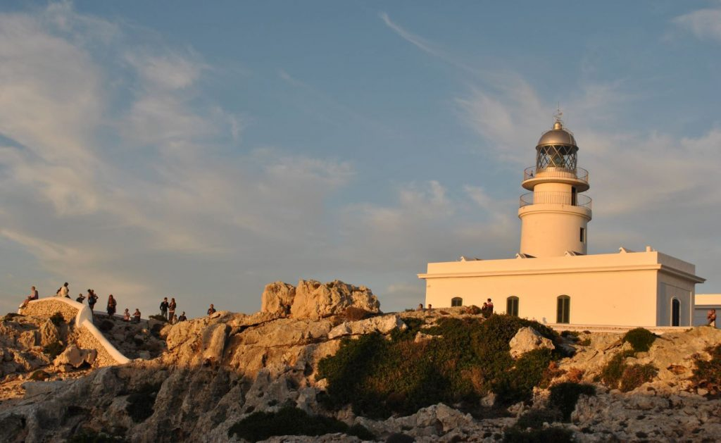 Faro de Cavalleria, en el norte de la isla