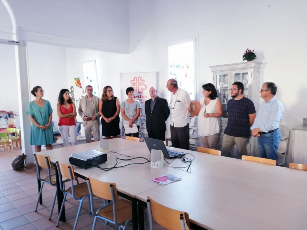 Imagen de la presentación del proyecto en Es Barracó