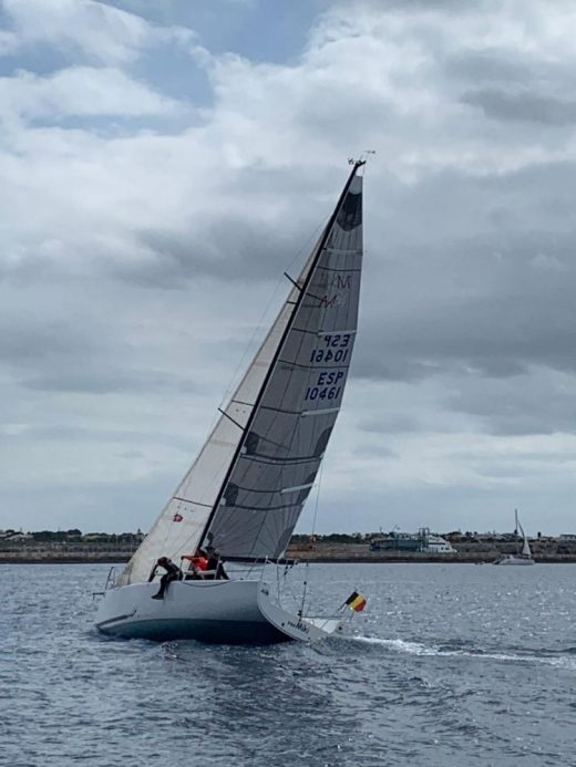 Imagen de la regata disputada este domingo en Ciutadella (Foto: Es Nàutic)