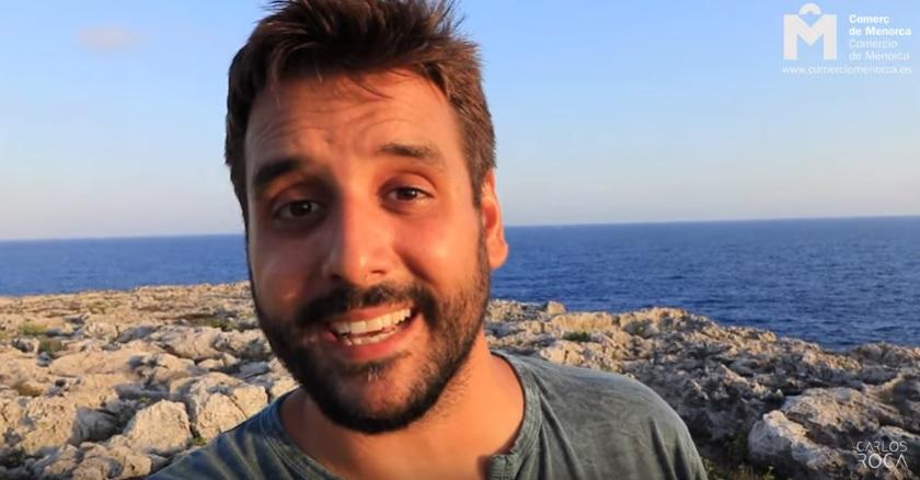 Imagen del vídeo de ASCOME que protagoniza Carlos Roca