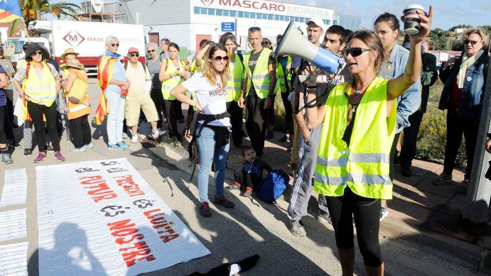 El PP cree que la marcha pretendía trasladar el clima de crispación de Cataluña a Menorca