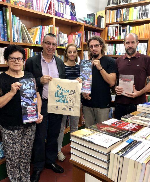 Presentación de la Fira del Llibre en Català.