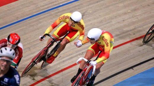 La dupla, en plena carrera (Fotos: RFEC)
