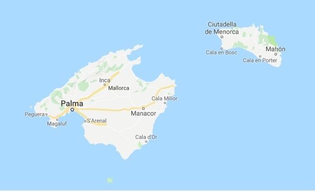 Son islas diferentes.