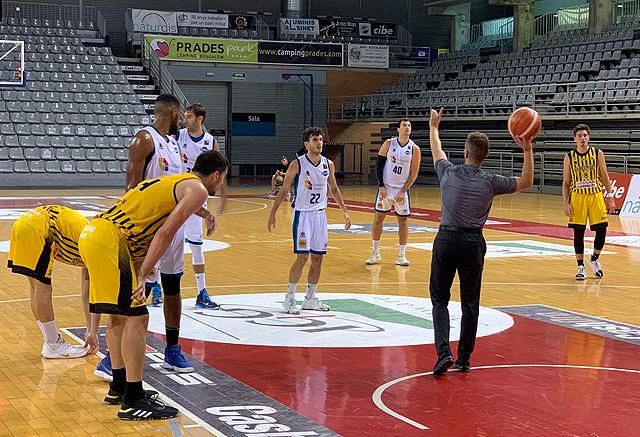 Gran actuación la del base Xavi Hernández (Foto: Hestia Menorca)