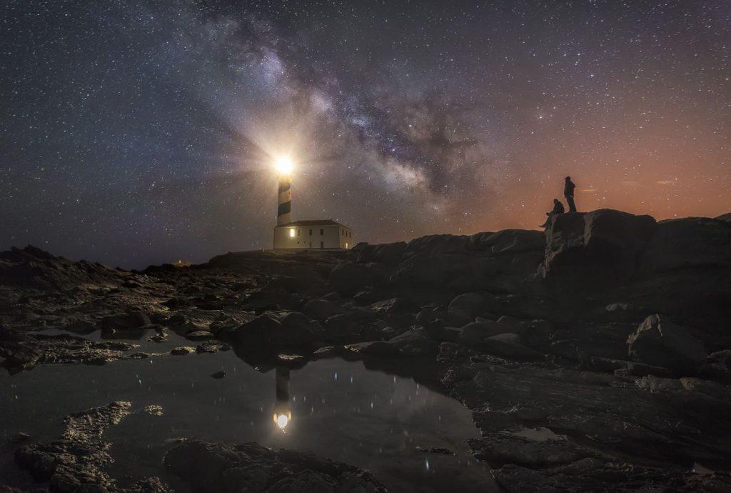 Cielo estrellado de Menorca (Foto: Menorca Reserva Biosfera)
