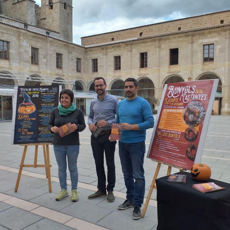 Imagen de la presentación de las actividades (Foto: Ajuntament de Maó)