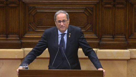 Quim Torra ha constatado que ya no hay lealtad entre los socios de sus gobierno  (Foto: mallorcadiario.com)