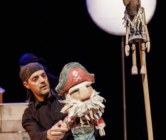 Un momento de la obra (Fotos: Teatre Principal de Maó)