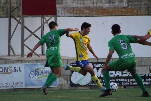 Nueva derrota del equipo de Es Castell.