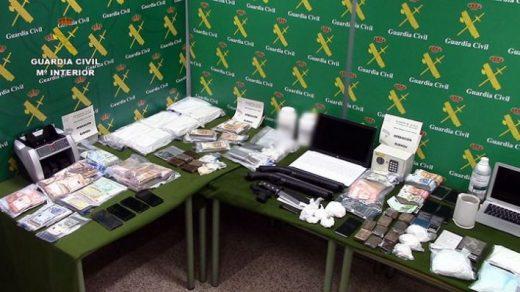 Imagen del material incautado (Foto: Guardia Civil)