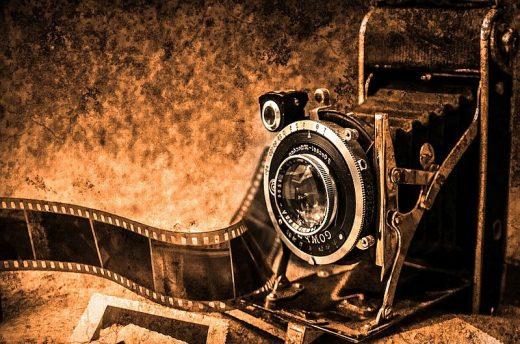 Imagen de una cámara antigua.