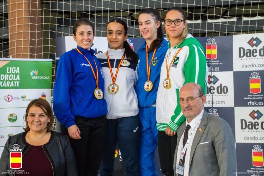 Cristina Pons, del club Shotokan Ciutadella
