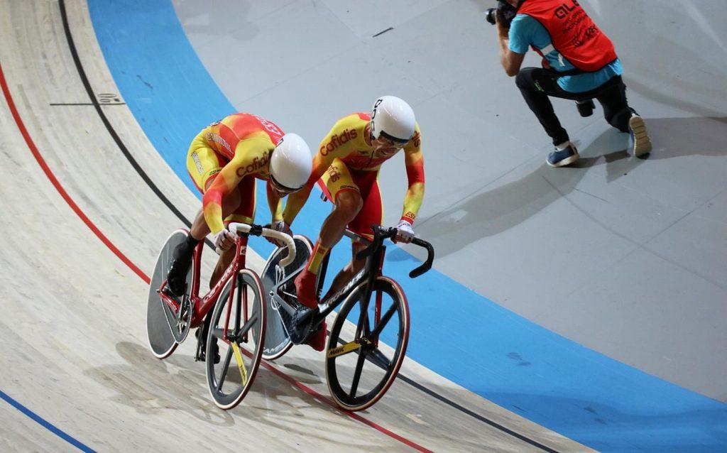 Torres y Mora, en un momento de la prueba (Foto: RFEC)