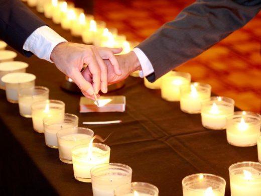 (Fotos) Velas en memoria de las víctimas