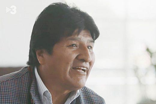 Evo Morales en el programa Quatre Gats de TV3