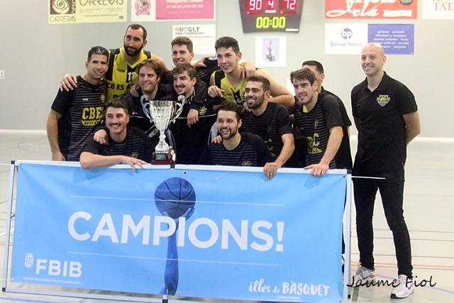 El CB Es Castell aspira a luchar por el Campeonato balear - Foto: Jaume Fiol