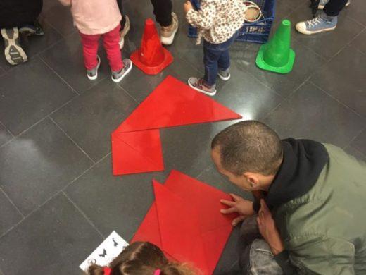 Éxito de participación, pese al mal tiempo, en las actividades infantiles de Sant Lluís