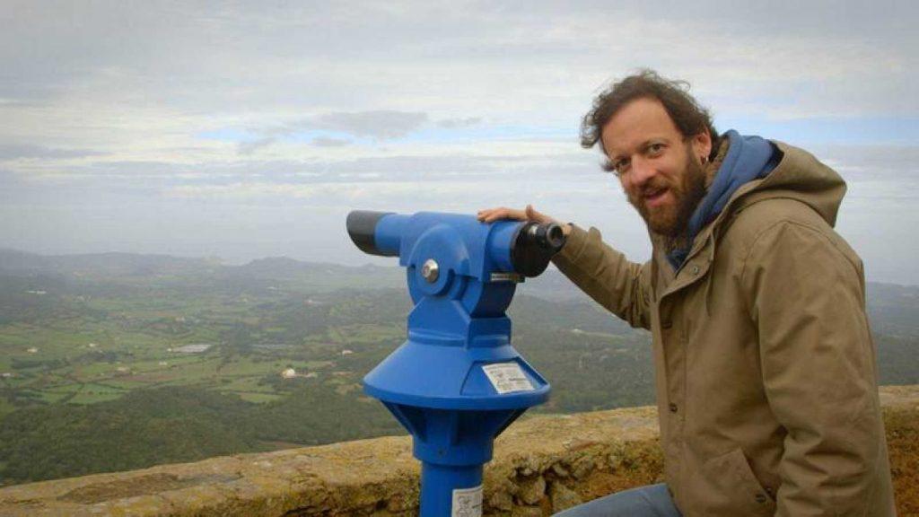 Imagen de Edu Soto con la que RTVE anuncia su paso por Menorca