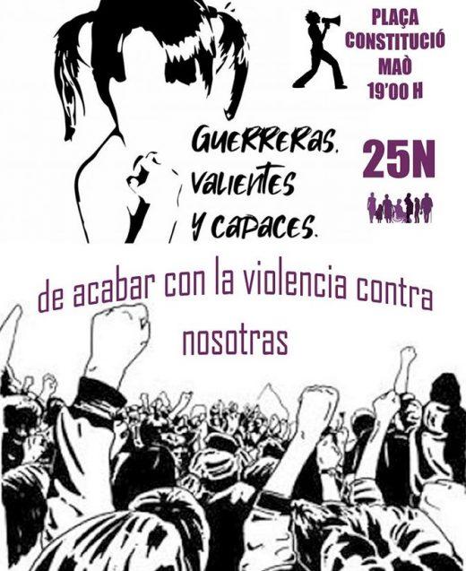 Imagen del cartel de la concentración