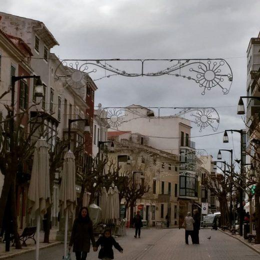 Imagen del centro de Maó