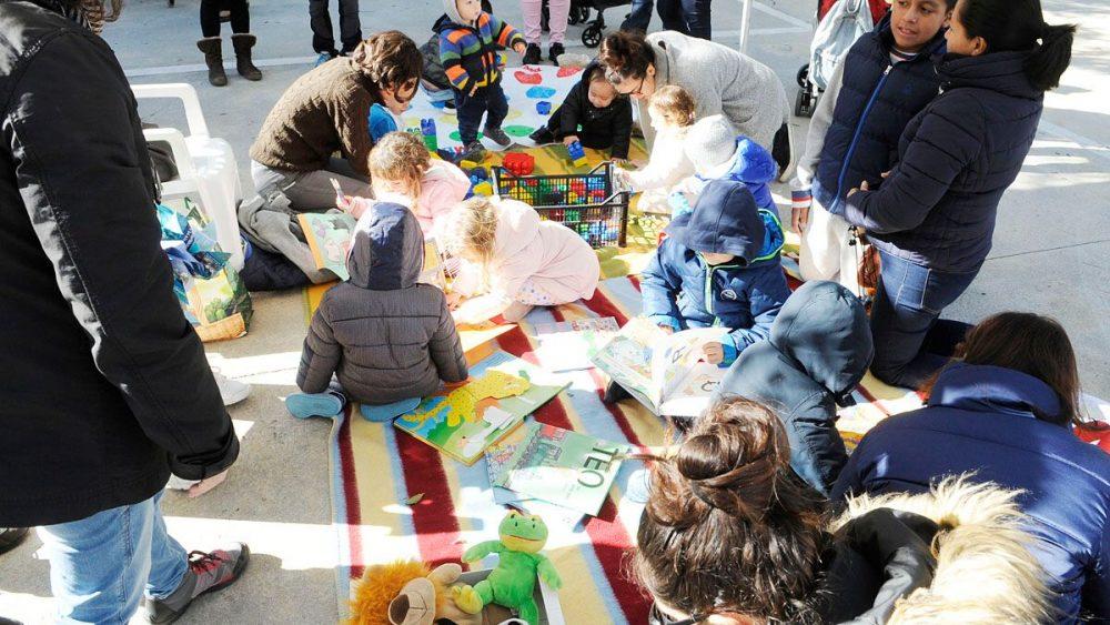 Un momento de las actividades (Fotos: Tolo Mercadal)
