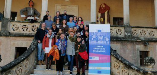 Los voluntarios europeos han sido recibidos este martes en Mallorca