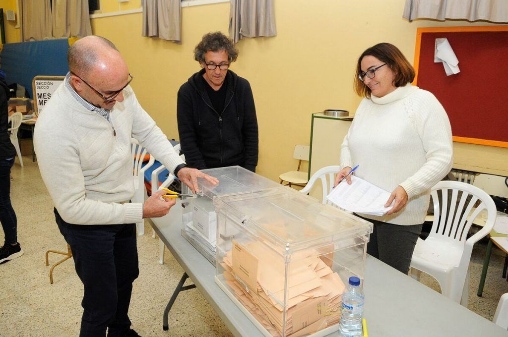 Casi finalizado el recuento en las urnas del Congreso en Menorca