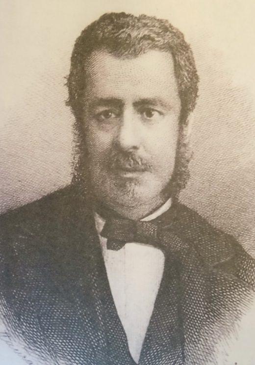 Retrato de Josep Maria Quadrado.