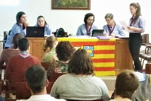 """Imagen de los """"Escoltes de Menorca""""."""