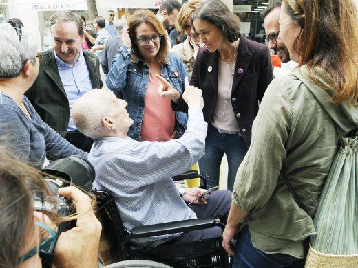 (Galería de fotos) El PSOE enseña músculo en Maó