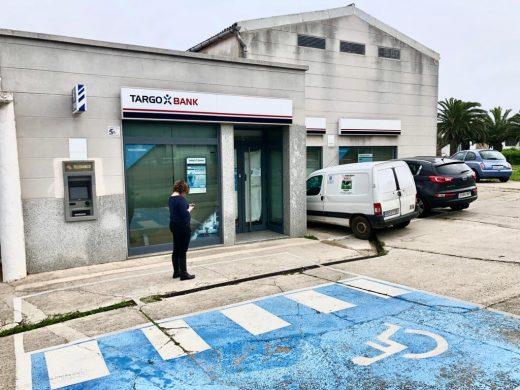 Imagen de la oficina de Targobank en Maó (Foto: Tolo Mercadal)