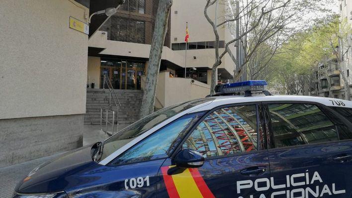 Policía Nacional de Palma.