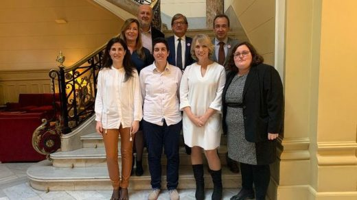 Parlamentarios de Baleares que han participado en el debate (Foto: Mallorcadiario)