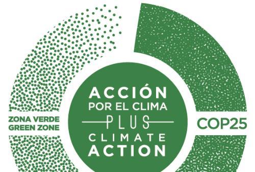 """Logo de """"Acción por el clima"""""""