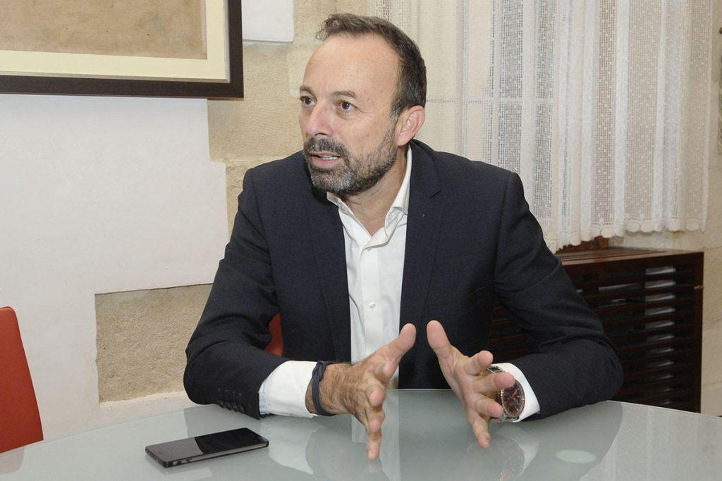 José Luis Benejam, alcalde de Alaior (Foto: T.M.)