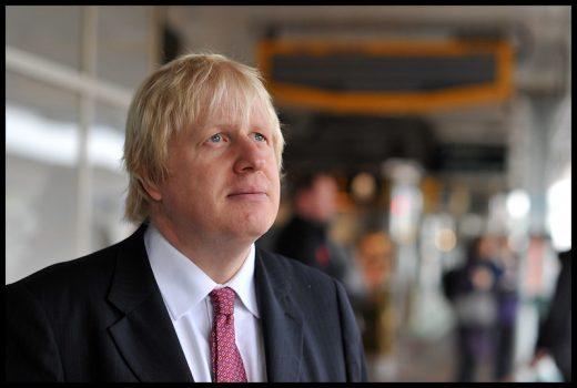 Boris Johnson en una imagen de Andrew Parsons/ i-Images