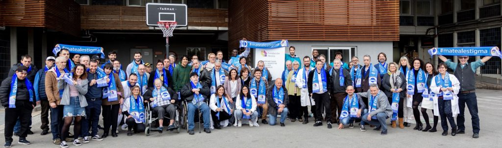 Imagen del grupo de participantes captada por  Alejandro González Abellán