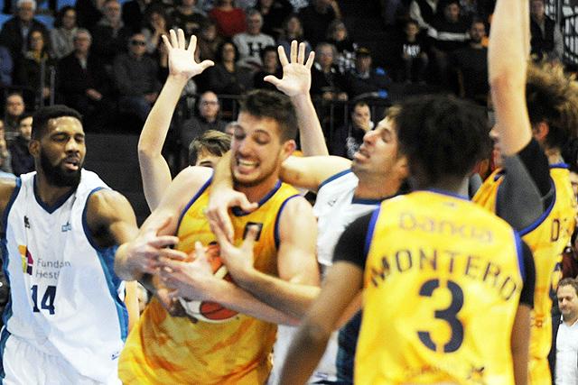 El Gran Canaria fue justo vencedor del partido - Foto: Tolo Mercadal