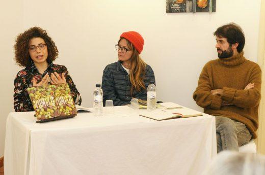 Un momento de la presentación del libro (Foto: Tolo Mercadal)