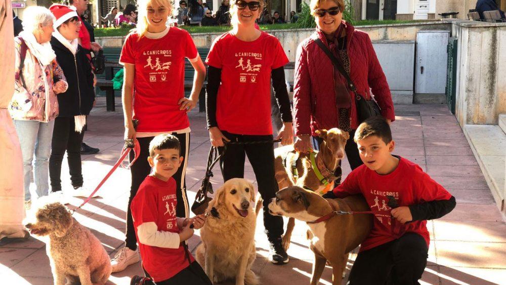 Imagen de alguno de los participantes (Fotos: Protectora  d'Animals de Ciutadella)