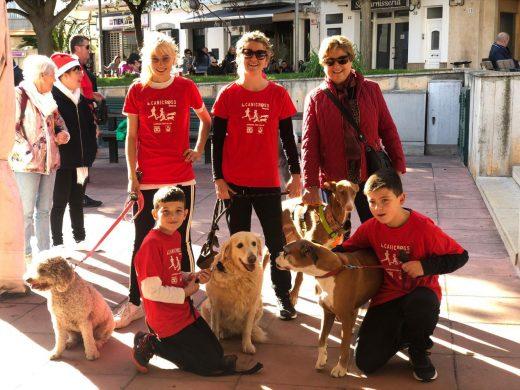 (Galería de fotos) Perros y dueños, a la carrera en Ferreries