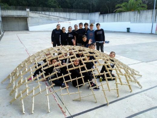 (Galería de fotos) Arte, historia y geometría en el IES Biel Martí