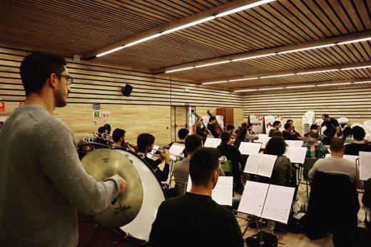 Imagen de los ensayos de la Orquesta publicada en sus redes sociales