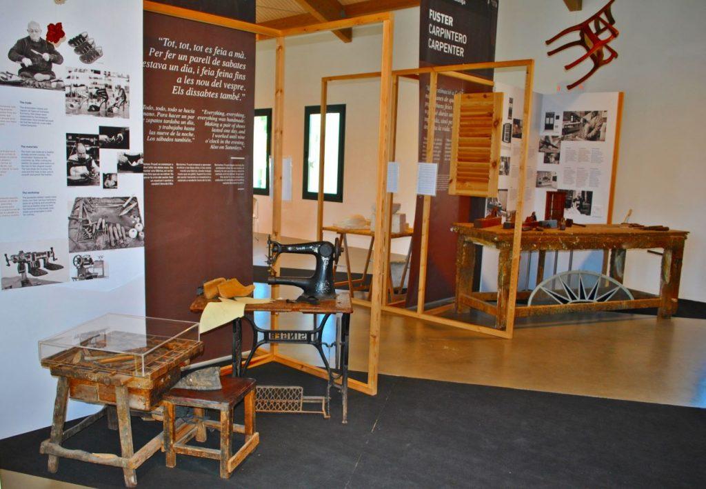 Imagen del interior del Centro Artesanal de Menorca (Foto: EA)