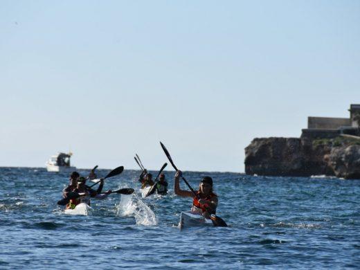 (Galería de fotos) Espectacular Copa Balear de kayak