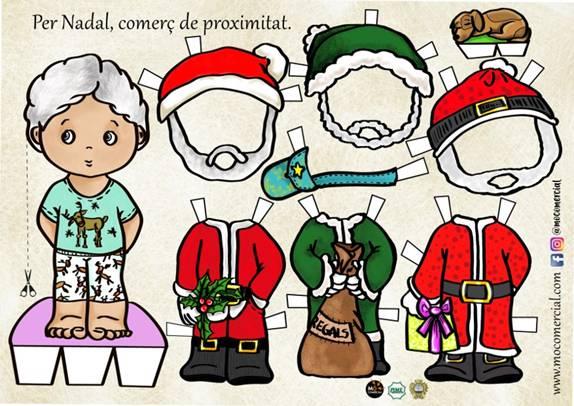 Uno de los diseños de los muñecos recotables que regalarán los comercios de Maó